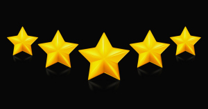 bigstock-Five-stars-on-black-13934966